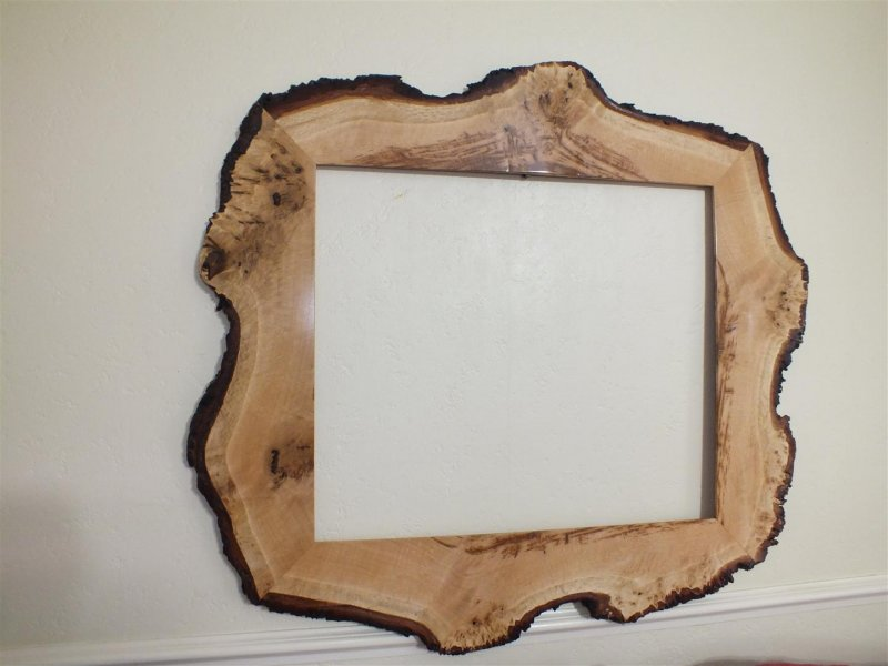 Natural Edge Picture Frames