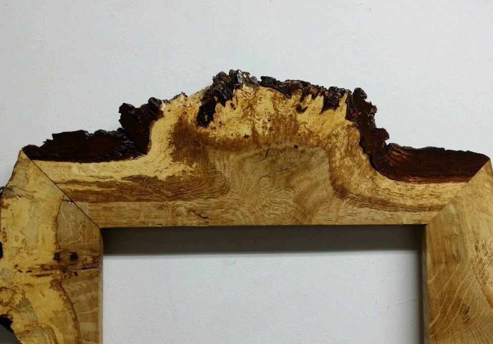 Oak Burr Frame 10 X 12 Inches This Is Now Sold Graham