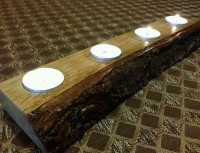 Natural Edge Tea Light Holder – 4 Tea Light holder