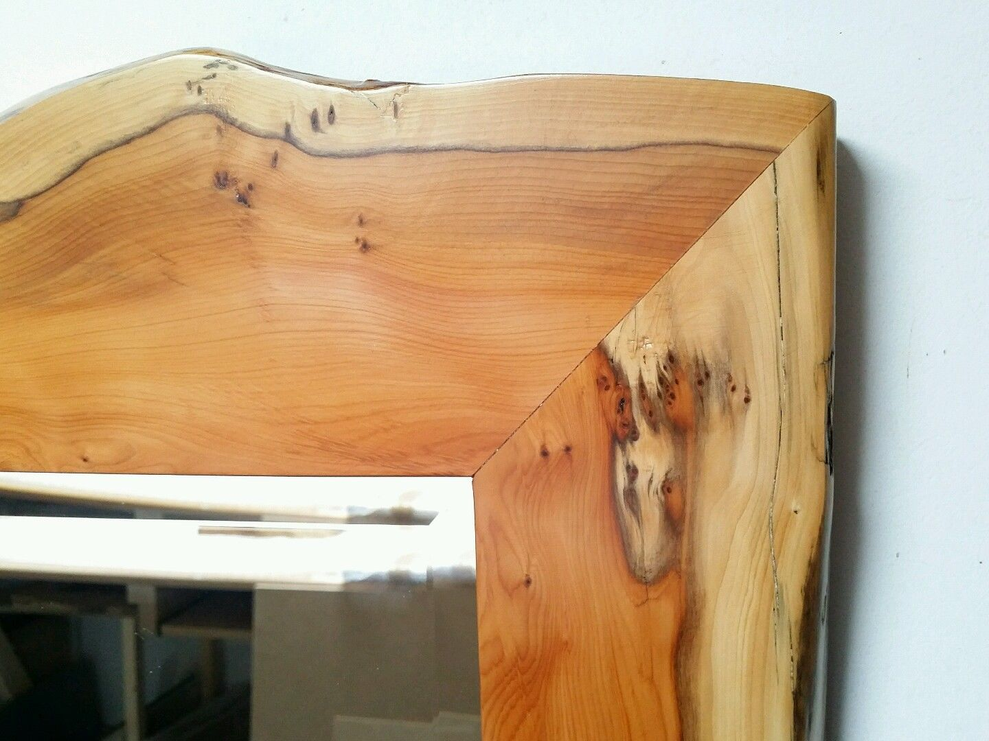 Yew Frame 16 X 20 Inch Mirror This Is Now Sold Graham