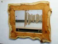 Yew Frame Mirror 16 inches x 20 inches This is sold now.